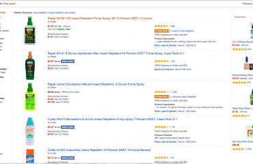 Amazon Search Ranking Example