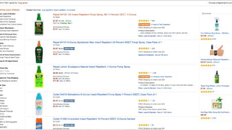 Amazon Search Ranking Example